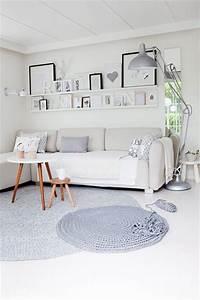 Kleines Wohnzimmer Einrichten : kleines wohnzimmer im skandinavischen stil wohnideen einrichten ~ Markanthonyermac.com Haus und Dekorationen
