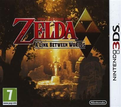 Zelda Between Link Worlds 3ds Legend Nintendo