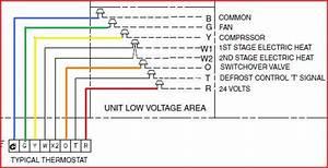 Trane Heat Pump Low Voltage Wiring Diagram