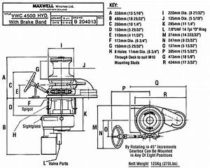 Maxwell Marine Anchor Winches Stainless Steel Electric
