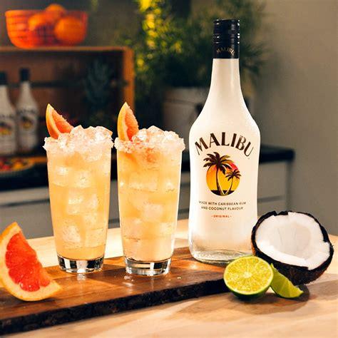 Drink w stylu white russian, ale bardziej łagodny z większą ilością mleka, a role procentów odgrywa tu malibu rum w połączeniu z. Malibu Cocktail Maracuja : Malibu Passionsfrucht Maracuja ...