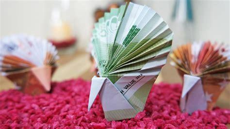 geldschein falten pfau tier aus geld falten geldgeschenk