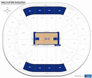Chaifetz Arena Seating Chart Chaifetz Arena Saint Louis Seating Guide Rateyourseats Com