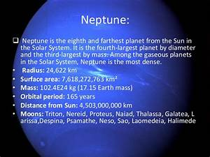 Image Gallery neptune planet radius