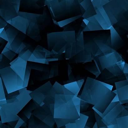 Shapes Dark Background 4k Abstraction Ipad Mini