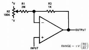 converting positive cv to modular With dc bias circuit