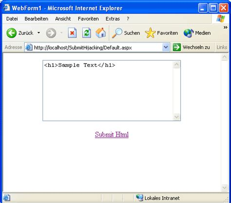 hijacking with asp net codeproject