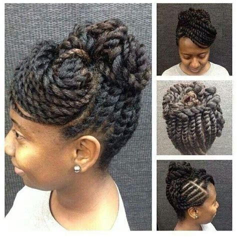 Twist Updo Hairstyles Hair by Flat Twist Updo Hairstyles For Black Hairstylo