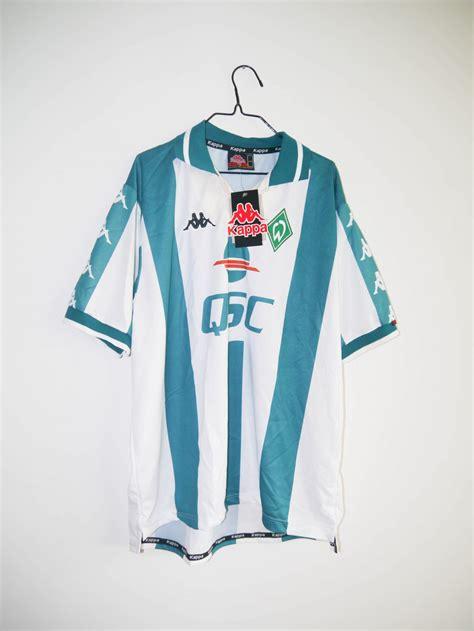 Ich bin bereit, sagte der 31 jahre alte türke. Original 2000-01 Werder Bremen *BNWT* home jersey - L | RB ...
