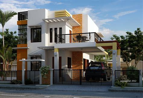 gambar desain rumah minimalis elegan wallpaper dinding