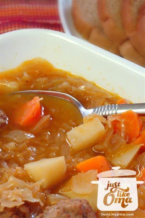 sauerkraut soup recipe  recipe sauerkraut soup
