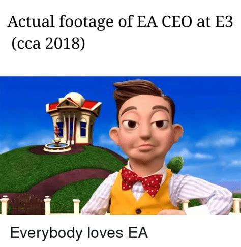 2018 Dank Memes - actual footage of ea ceo at e3 cca 2018 dank meme on me me