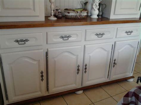 meuble de cuisine repeint buffet stéphanie et éléonore déco