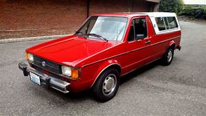 One Owner-1981 Vw Caddy Pickup - All Original Inc  Paint For Sale