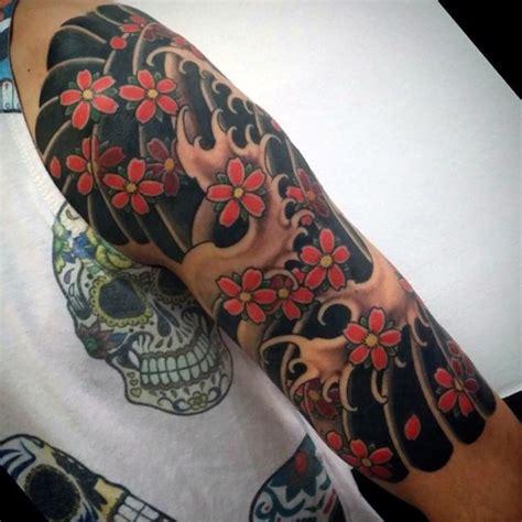 tatouage traditionnel japonais bras cochese tattoo