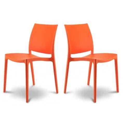 chaise de couleur en plastique chaise de jardin en plastique de couleur