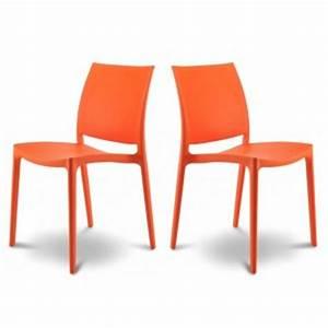 Chaise Jardin Plastique : chaise de jardin en plastique de couleur ~ Teatrodelosmanantiales.com Idées de Décoration