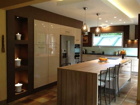 configuration cuisine ikea îlot central de cuisine en 30 idées originales