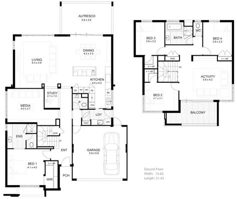 house with floor plan floor plan two house floor plans ahscgscom simple 2