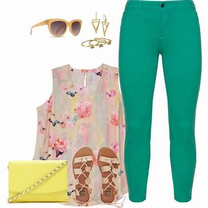 Outfit Polyvore Super Plus Outfits Summer Trendy