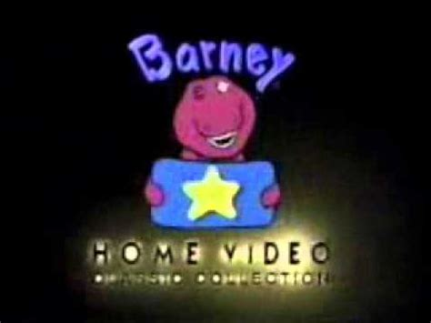 barney home video logo  present  pitch  tones