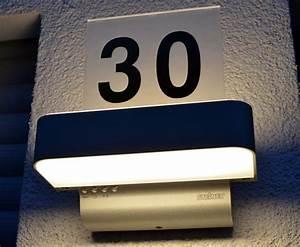 Außenleuchte Mit Hausnummer : au enleuchte steinel l820 led ihf heim am main ~ Buech-reservation.com Haus und Dekorationen