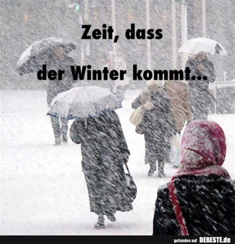 zeit dass der winter kommt lustige bilder sprueche