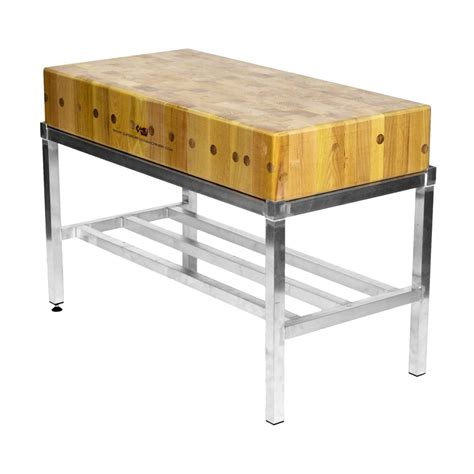 Superior Food Machinery  Italian Butchers Block  4ft By 2ft
