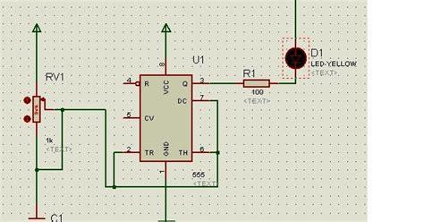 membuat rangkaian flip flop running led dan traffic light menggunakan aplikasi proteus