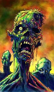Zombie Art on Pinterest Zombie Pin Up, Science Fiction