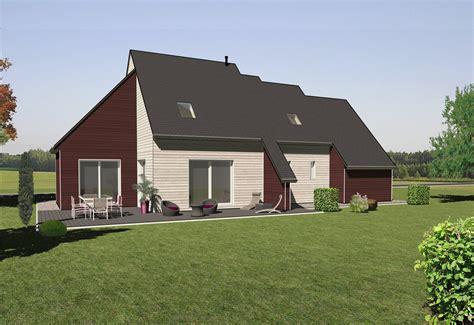 les maisons 224 ossature bois 224 233 tages mod 232 le chene bois et vie