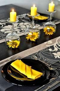 Tischdeko Mit Sonnenblumen : die 25 besten ideen zu sonnenblumen auf pinterest ~ Lizthompson.info Haus und Dekorationen