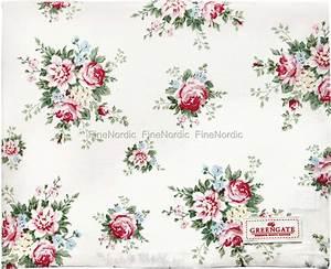 Tischdecke 350 X 150 : greengate tischdecke aurelia white 150 x 150 cm ~ Watch28wear.com Haus und Dekorationen