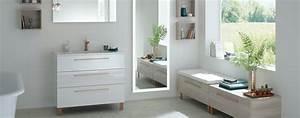toutes nos gammes meuble salle de bains sanijura With meuble vasque salle de bain brossette