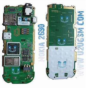 Nokia 2690 Full Pcb Diagram Mother Board Layout