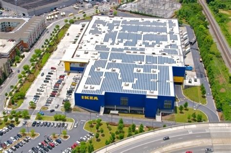 ikea  increase size  existing solar energy system