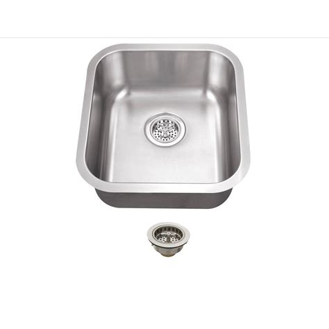 All In One Kitchen Sink by Schon All In One Undermount Stainless Steel 16 In 0
