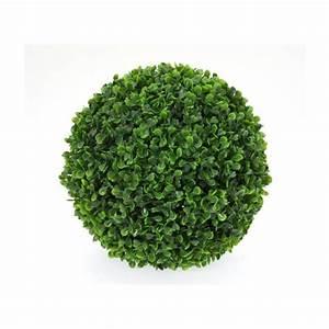 Boule De Buis : boule de buis artificielle diam tre 30 cm achat vente ~ Melissatoandfro.com Idées de Décoration
