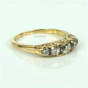 small wedding rings antique gold engagement rings small diamonds 3 styleengagement