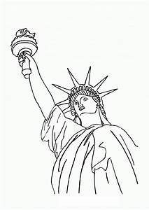 statue of liberty drawing outline clipartsco With statue of liberty drawing template