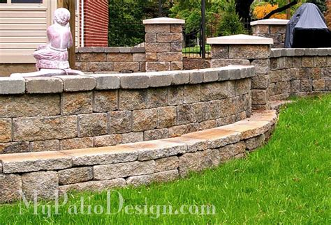 Fabulous Seating Wall Ideas For Your Patio