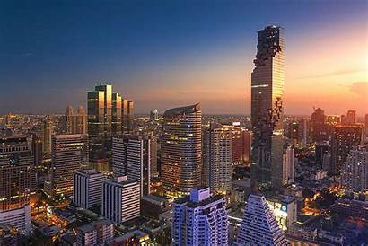Bangkok Tallest Building Hotels Orient Weltweit Erstes