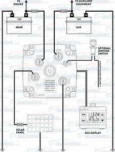 Intervolt Dcc Pro 25a Dc To Dc Charger Mppt Solar  U0026 Lcd