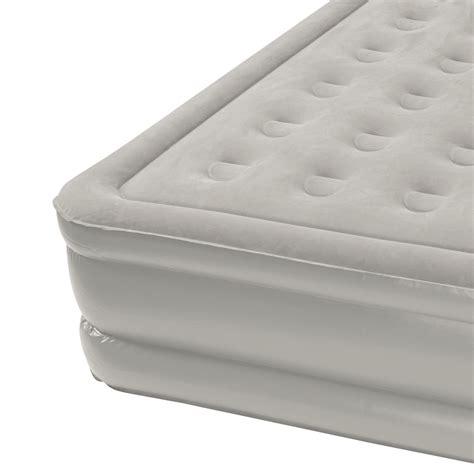 insta bed raised air mattress insta bed 18 quot raised air mattress bed headboard