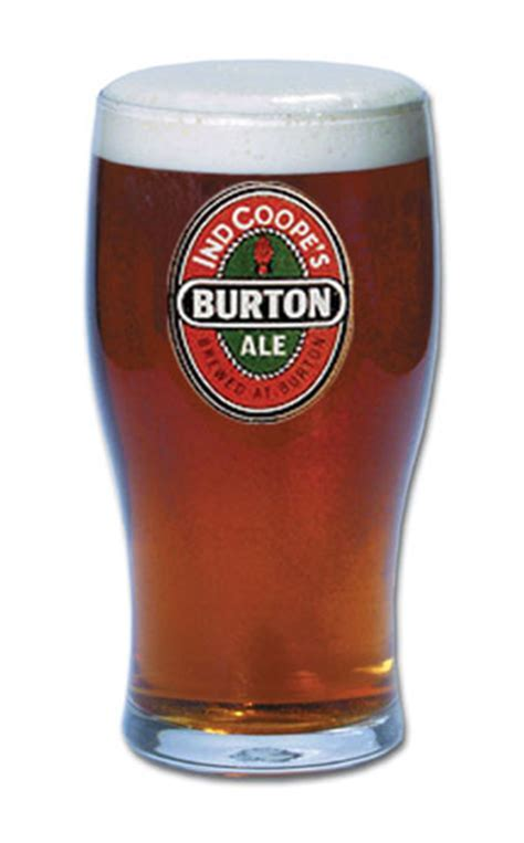 BURTON ALE LOGO PUB GLASSES, SET OF SIX Alberene Royal Mail