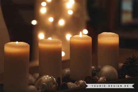 Die 4 Adventskerzen  Youdid Design