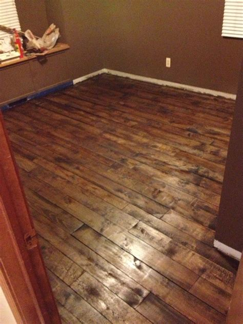 can hardwood floors be installed on concrete floating hardwood floor over carpet laminate hickory flooring combined black leather