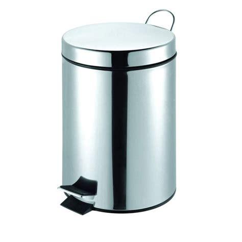 poubelle cuisine pedale poubelle à pédale inox 12 l avec seau achat vente