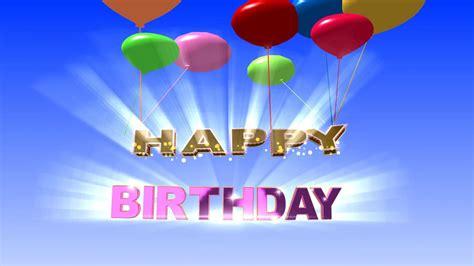 happy birthday background video animation hd youtube