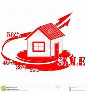House Logo Sale Stock Photography - Image: 26344532